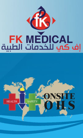 OHS في الموقع & FK Medical  فريق